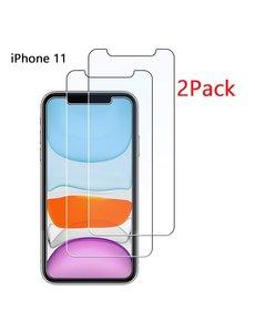 Ntech Ntech 2 Pack - Apple iPhone 11 Screenprotector Glass (0.3mm)