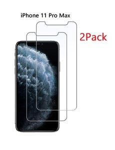 Ntech Ntech 2 Pack - Apple iPhone 11 Pro Max Screenprotector Glass