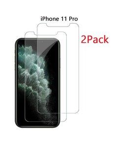 Ntech Ntech 2 Pack - Apple iPhone 11 Pro Screenprotector Glass (0.3mm)