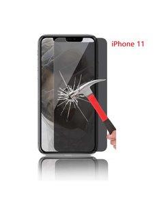 Ntech Ntech Apple iPhone 11 Privacy Screenprotector Glass Anti Spy