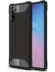 Ntech Ntech Samsung Galaxy Note 10 Armor Hoesje - Zwart