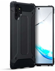 Ntech Ntech Samsung Galaxy Note 10 Plus Armor Hoesje - Zwart