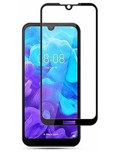 Ntech Huawei Y5 2019 Full Cover Glass Screenprotector Zwart - Ntech
