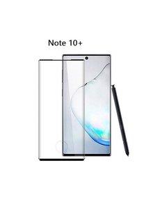 Ntech Samsung Galaxy Note 10 Plus Full glue Protector Zwart - Ntech