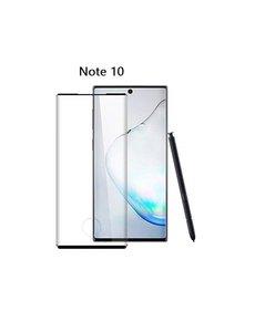 Ntech Samsung Galaxy Note 10 Full glue Protector Zwart - Ntech
