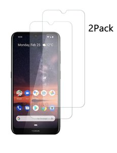 Ntech Nokia 3.2 Screenprotector Tempered Glass 2 Pack - Ntech
