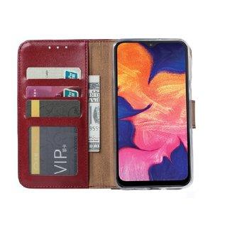 Ntech Samsung Galaxy A10 Portemonnee Hoesje - Bordeaux Ntech