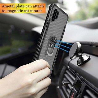 Ntech Samsung Galaxy Note 10 Anti shock Ringhouder - Transparant Ntech