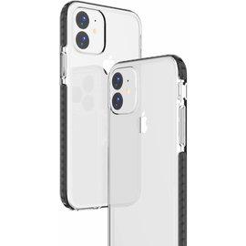 Ntech Apple iPhone 11 Anti Shock Hoesje - Zwart & Transparant Ntech