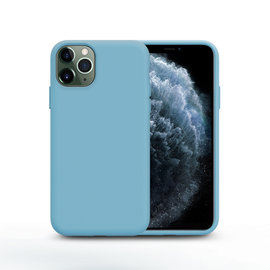 Ntech Nano Silicone Back Hoesje Apple iPhone 11 Pro Max - Turquoise Ntech