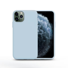 Ntech Nano Silicone Back Hoesje Apple iPhone 11 Pro Max - Baby Blue Ntech
