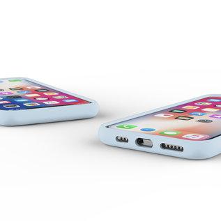 Ntech Nano Silicone Back Hoesje Apple iPhone 11 Pro Max - Baby Blue Ntech