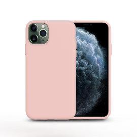 Ntech Nano Silicone Back Hoesje Apple iPhone 11 Pro Max - Licht Roze Ntech
