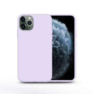 Ntech Nano Silicone Back Hoesje Apple iPhone 11 Pro Max - Lila Ntech