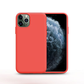 Ntech Nano Silicone Back Hoesje Apple iPhone 11 Pro Max - Rood Ntech