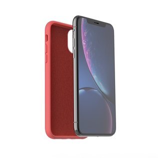 Ntech Nano Silicone Back Hoesje Apple iPhone 11 Pro Max - Rood Ntech