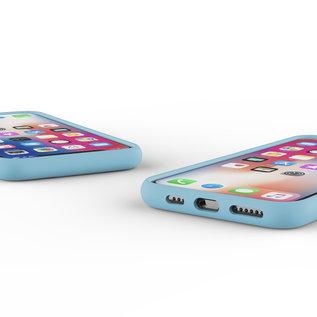 Ntech Nano Silicone Back Hoesje Apple iPhone 11 Pro - Turquoise Ntech