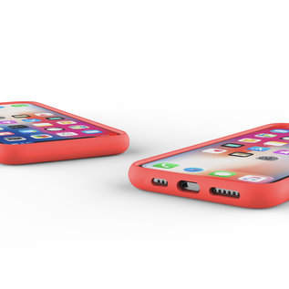 Ntech Nano Silicone Back Hoesje Apple iPhone 11 Pro - Rood Ntech