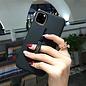 Ntech Apple iPhone 11 Pro Lazy finger Ringhouder TPU - Blauw Ntech