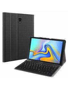 Ntech Samsung Galaxy Tab A 10.5 (2018)-Smart Toetsenbord Hoes - Zwart Ntech
