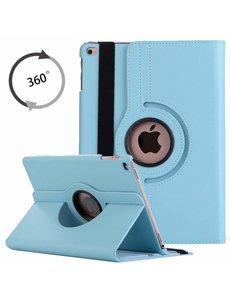 Ntech Apple iPad 10.2 (2019 / 2020) 360° Draaibare Hoes - Turquoise