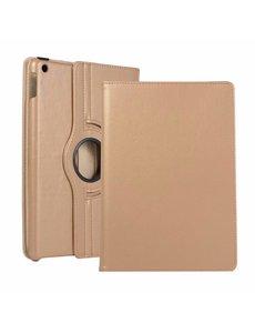 Ntech Apple iPad 10.2 (2019 / 2020) 360° Draaibare Hoes - Goud