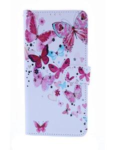 Ntech Vlinder Fashion Portemonnee | Boek Hoesje - Samsung Galaxy A50s/A30s
