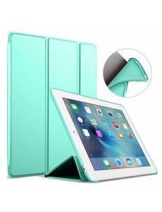 Ntech Apple iPad 10.2 (2019 / 2020) Smart hoes Trifold - Mint Groen