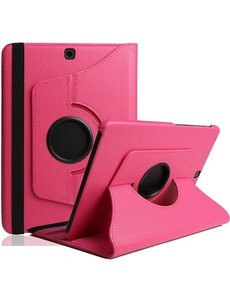Samsung Galaxy Tab S3 9.7 (SM-T820/T825) Hoes Case Cover 360° draaibaar Multi stand Pink