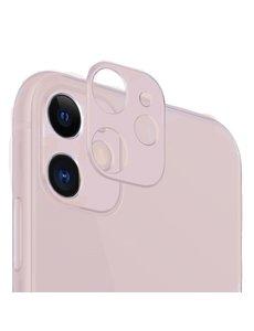Ntech Apple iPhone 11 Camera Lens Metal Protector - Rose goud