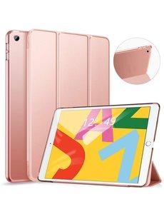 Ntech Apple iPad 10.2 (2019 / 2020) Smart hoes Trifold - Rose Goud