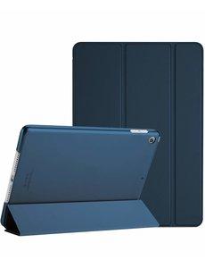 Ntech Apple iPad 10.2 (2019 / 2020) Smart hoes Trifold - Donker Blauw