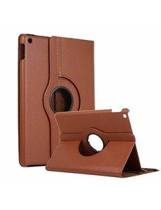 "Ntech Apple iPad 2019 / 2020 10.2"" 360° draaibare Hoes - Bruin"