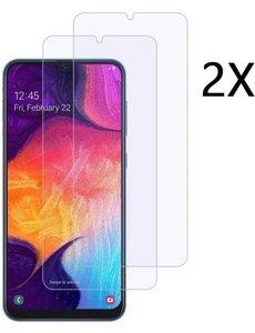 Ntech Ntech 2 Stuks Screenprotector Tempered Glass - Samsung Galaxy A40