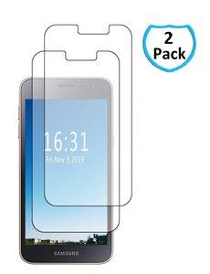 Ntech Samsung Galaxy J2 Core Screenprotector Tempered Glass - 2 Stuks