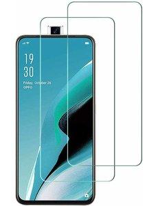 Ntech Oppo Reno 2Z Screenprotector Tempered Glass - 2 Stuks