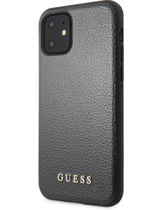Guess Guess IriDescent Backcover voor Apple iPhone 11 - Zwart