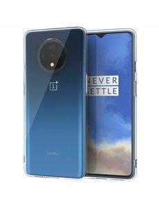 Ntech OnePlus 7T Hoesje TPU backcover - Transparant