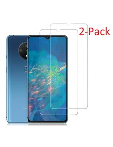 Ntech OnePlus 7T Screenprotector 2 Pack / Tempered Glass