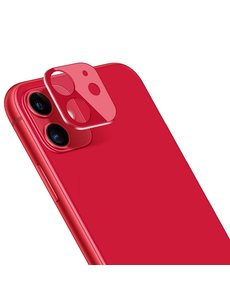 Ntech Apple iPhone 11 Camera Lens Glass Protector - Rood