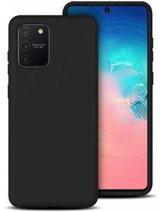 Ntech Samsung Galaxy S10 Lite (2020) TPU hoesje backcover - Zwart