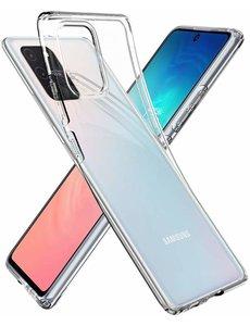 Ntech Samsung Galaxy S10 Lite (2020) Hoesje TPU backcover - Transparant