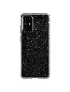 Ntech Samsung Galaxy S20 Plus Glitter Hoes Zwart