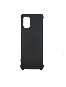 Ntech Samsung Galaxy A71 Back Shock Hoesje Zwart