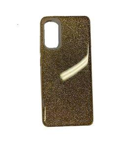 Ntech Samsung Galaxy S20 Glitter Hoes Goud