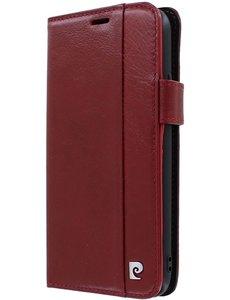 Pierre Cardin iPhone 11 Bookcase hoesje - Pierre Cardin - Effen Rood - Leer