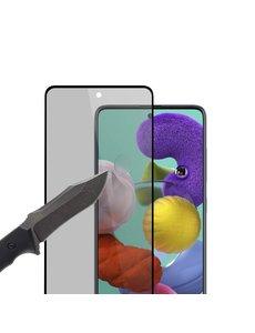 Ntech Samsung Galaxy A71 Privacy Tempered Glass