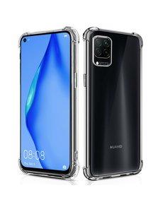 Ntech Huawei P40 Lite Schokbestendig siliconen Hoesje Transparant