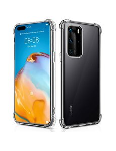 Ntech Huawei P40 Schokbestendig Hoesje Transparant