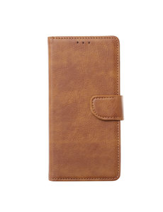 Ntech Ntech Samsung Galaxy M21 Book Case - Bruin